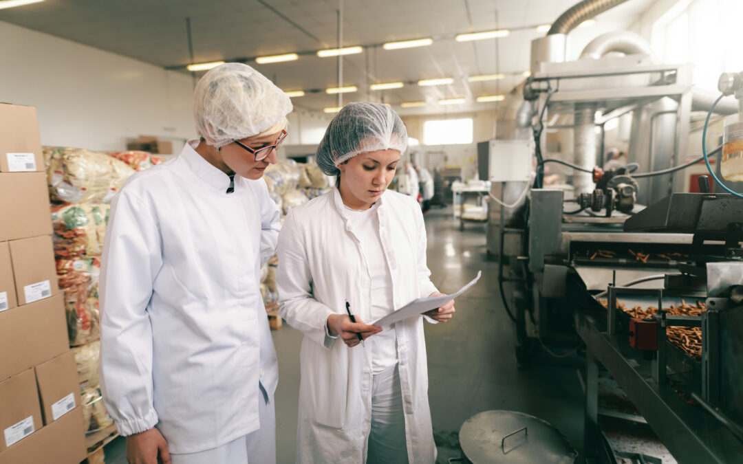 What are the key challenges for UK food and drink manufacturers?